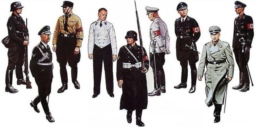 Origen de las botas contemporáneas - Botas Nazis